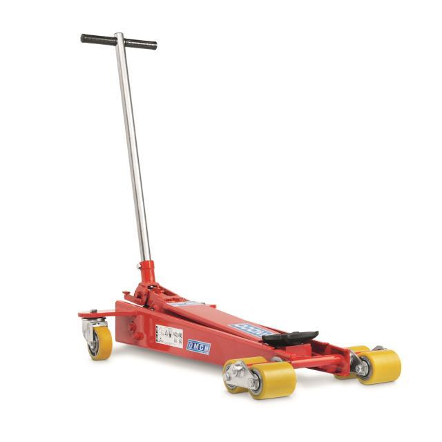 Omcn spa 1120 e sollevatore idraulico a carrello for Omcn prezzi