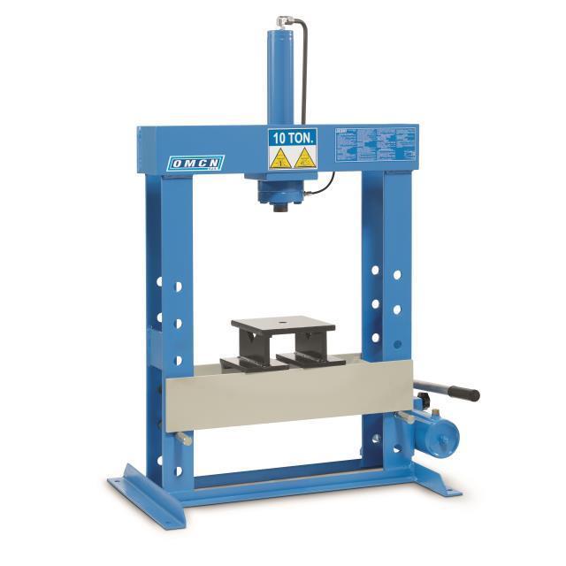 Omcn spa 153 pressa idraulica da banco 10 ton for Presse idrauliche usate per officina