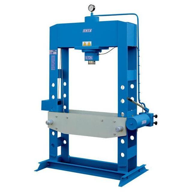 Omcn spa 157 pressa idraulica 40 ton con pompa for Pressa idraulica per officina usata