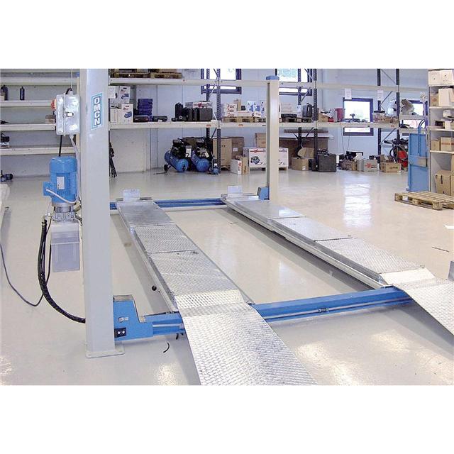 Omcn spa 399 ponte sollevatore a 4 colonne omcn399 for Sollevatore auto usato